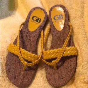 Fun yellow sandals